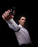 armatni mężczyzna fotografii yuong Fotografia Stock