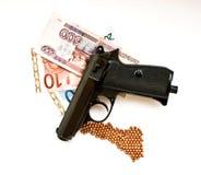 armatni pieniądze Zdjęcie Stock