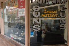 Armatni sklep Las Vegas, Nevada Fotografia Stock