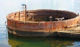 Armatnia wieżyczka, U.S.S. Arizona, pearl harbour Obraz Royalty Free