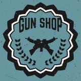 Armatniego sklepu odznak i logotypów wektoru set Obraz Royalty Free