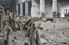Armatura in cemento armato Immagini Stock