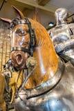 Armatura d'annata su esposizione in torre di Londra Immagine Stock