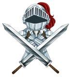 Armatura del cavaliere illustrazione vettoriale