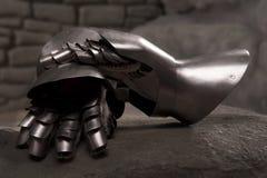 Armatura del cavaliere medioevale Fotografie Stock