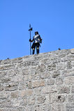 Armatura del cavaliere, Rodi. fotografie stock libere da diritti