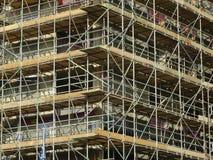 Armatura della costruzione del cantiere Immagini Stock