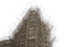 Armatura di bambù Fotografia Stock Libera da Diritti