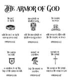 Armatura di Dio illustrazione vettoriale