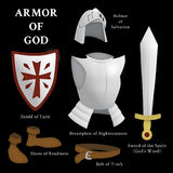 Armatura di Dio illustrazione di stock