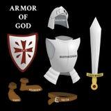 Armatura di Dio royalty illustrazione gratis