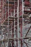 Armatura su costruzione multi-storey fotografie stock libere da diritti