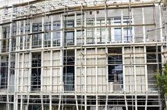 Armatura una costruzione in costruzione Fotografia Stock Libera da Diritti