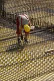Armature καθορισμού εργαζομένων στο εργοτάξιο οικοδομής Στοκ φωτογραφίες με δικαίωμα ελεύθερης χρήσης