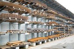 Armature κατασκευής αποθήκη εμπορευμάτων Στοκ φωτογραφία με δικαίωμα ελεύθερης χρήσης