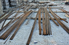 Armature οικοδόμησης χάλυβα Στοκ Φωτογραφία