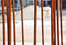 Armature οικοδόμησης χάλυβα Στοκ εικόνες με δικαίωμα ελεύθερης χρήσης