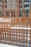 Armature οικοδόμησης χάλυβα Στοκ φωτογραφία με δικαίωμα ελεύθερης χρήσης