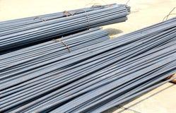 Armature ράβδων σιδήρου για την κατασκευή Στοκ φωτογραφία με δικαίωμα ελεύθερης χρήσης