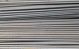 Armature ράβδων σιδήρου για την κατασκευή Στοκ Φωτογραφία
