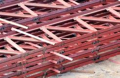 Armature ράβδων σιδήρου για την κατασκευή Στοκ Εικόνα