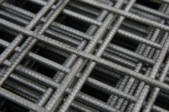 Armature. The detail welded in square Royalty Free Stock Images