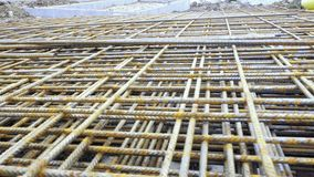 Armature made of wire wires, concrete ceilings reinforcement