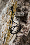 Armature protruding from a wall Royalty Free Stock Images