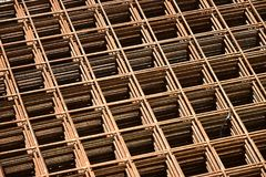 Armature, reinforcing steel for concrete. Stock Photos