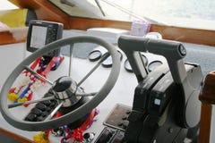Armaturenbrett des Schnellboots Lizenzfreie Stockbilder