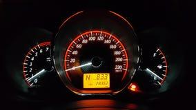 Armaturenbrett im Auto lizenzfreies stockfoto