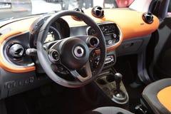 Armaturenbrett Mercedess SMARTFORTWO Lizenzfreie Stockfotografie