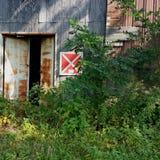 Armazém abandonado Imagem de Stock Royalty Free
