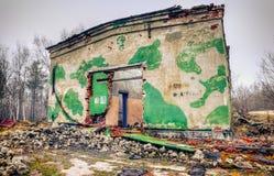 Armazém abandonado Fotos de Stock Royalty Free