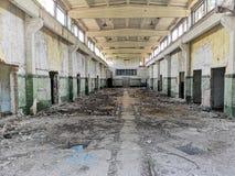 armazém 25-Abandoned Imagens de Stock Royalty Free