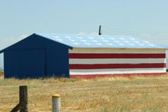 Armazém da bandeira dos E.U. Imagem de Stock