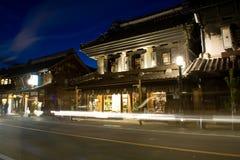 Armazém da cidade de Kawagoe Fotos de Stock Royalty Free