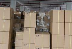 Armazém da fábrica imagens de stock