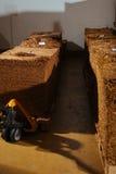 Armazém da fábrica do cigarro Imagem de Stock