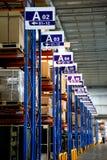 Armazém de Chongqing Minsheng Logistics Auto Parts foto de stock royalty free