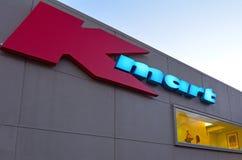 Armazém do disconto de Kmart Imagem de Stock