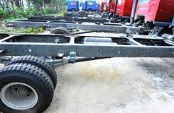 Armazém dos caminhões leves Foto de Stock
