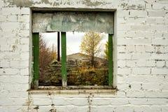 Armazém e construções industriais e construções abandonados Imagens de Stock Royalty Free