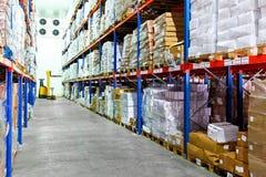 Armazém frio Fotografia de Stock