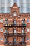 Armazém holandês velho em Rotterdam imagem de stock royalty free
