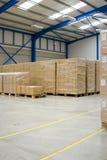 Armazém industrial foto de stock royalty free