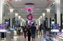 Armazém interno do ` s de Macy em New York City Foto de Stock