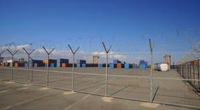 Armazém ligado em Limassol - Chipre fotografia de stock royalty free