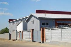 armazéns de construção Rápido-montados Imagem de Stock