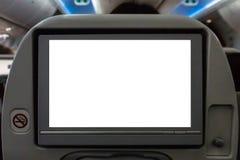 Armazón del asiento del vuelo imágenes de archivo libres de regalías
